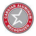 Carstar aluminum recognized logo