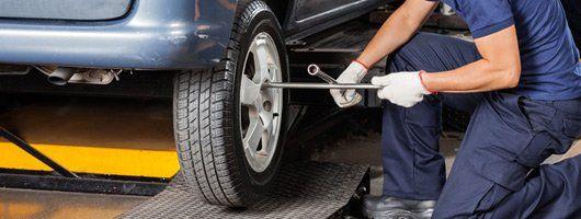 Tire fixing