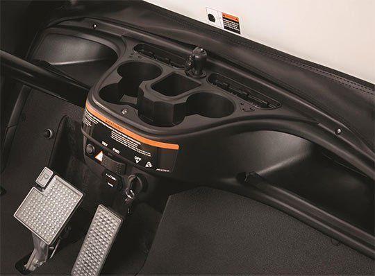 Yamaha Electric Car Interior