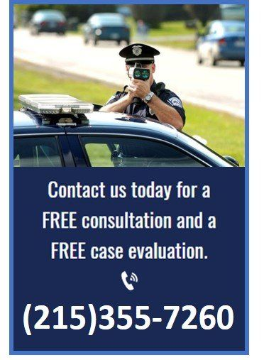 Levittown, PA Traffic Violations, Tickets, Speeding defended
