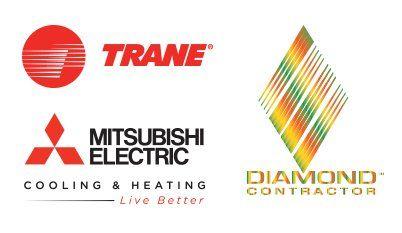 Trane, Mitsubishi, Diamond Contractor