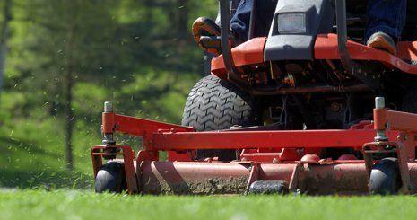 Large acreage mowing