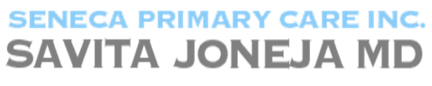 Seneca Primary Care Inc. Dr. Savita Joneja MD Logo
