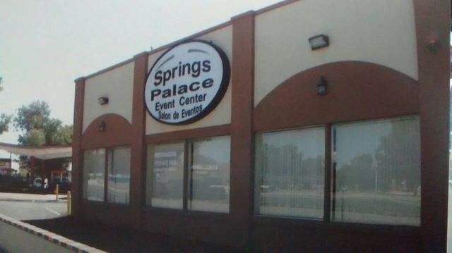 Springs Palace storefront
