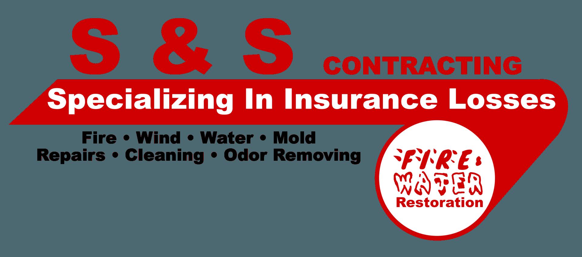 S & S Contracting Logo