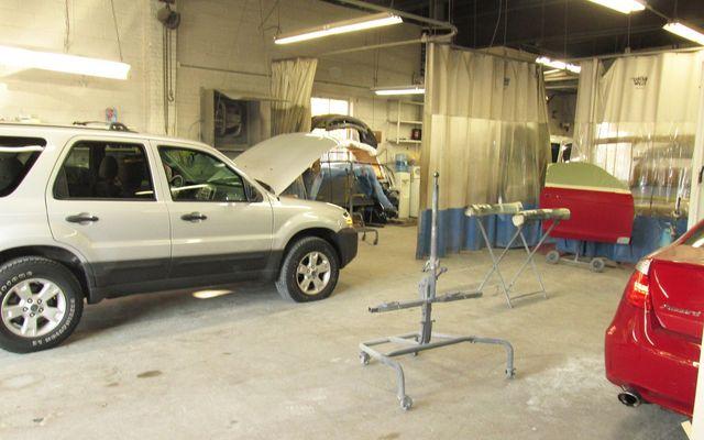 Quality vehicle repair work
