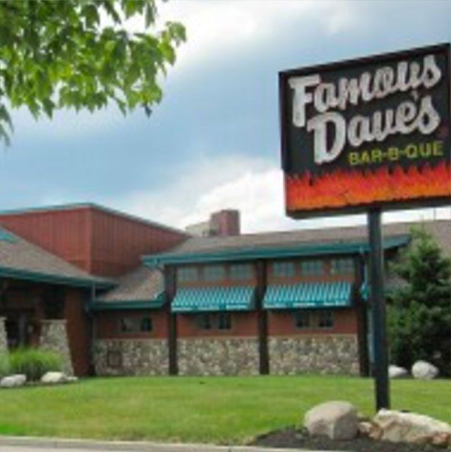 Famous Daves Bar-B-Que Building
