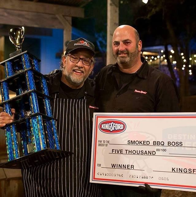 Smoked BBQ boss winner