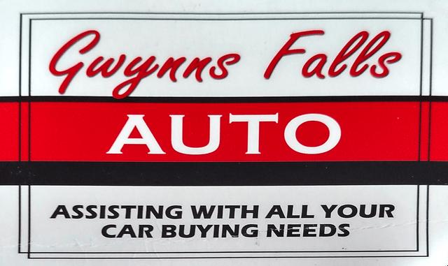 Gwynns Falls Auto Logo