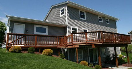 Decks Waukesha Wisconsin Deck Installation In Milwaukee
