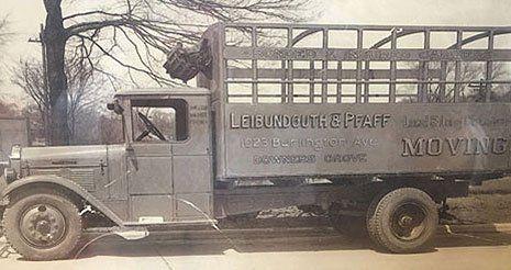 Leibundguth Storage & Van Service, Inc. vehicle