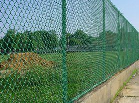 Baseball field fencing