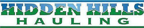 Hidden Hills Hauling LLC - Logo