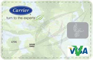 Carrier Visa Card