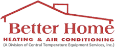 Better Home Heating & Air Conditioning logo