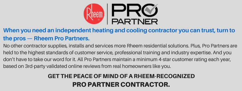 Rheem PRO Partner