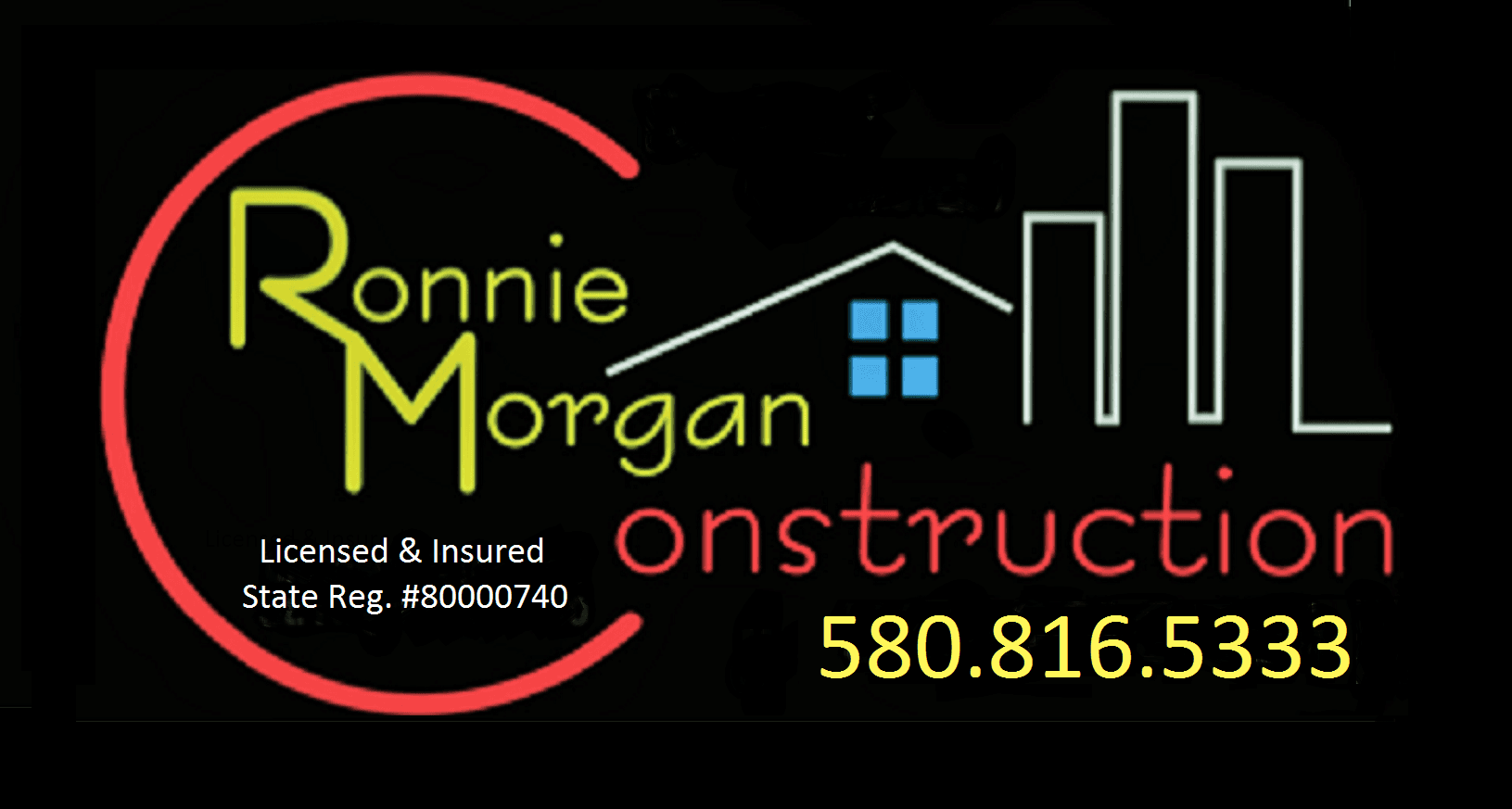 Ronnie Morgan Construction - logo