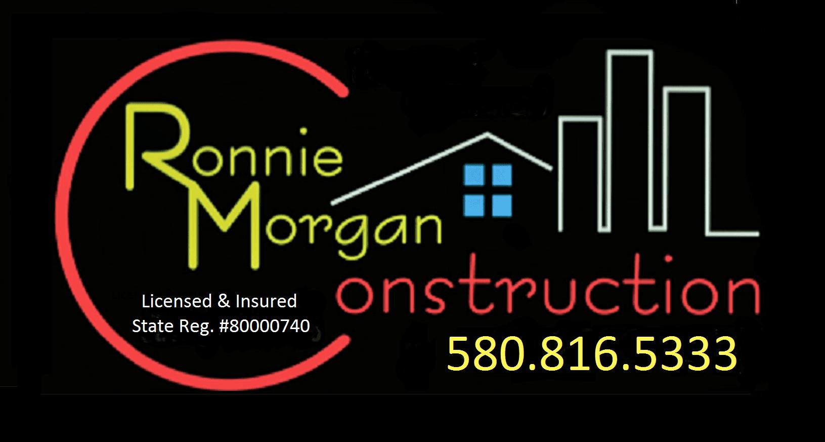 Ronnie Morgan Construction - logo