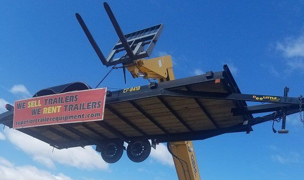 Utilities trailer