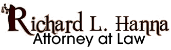 Richard L. Hanna Attorney at Law - Logo