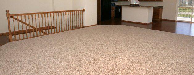 Clean carpeting