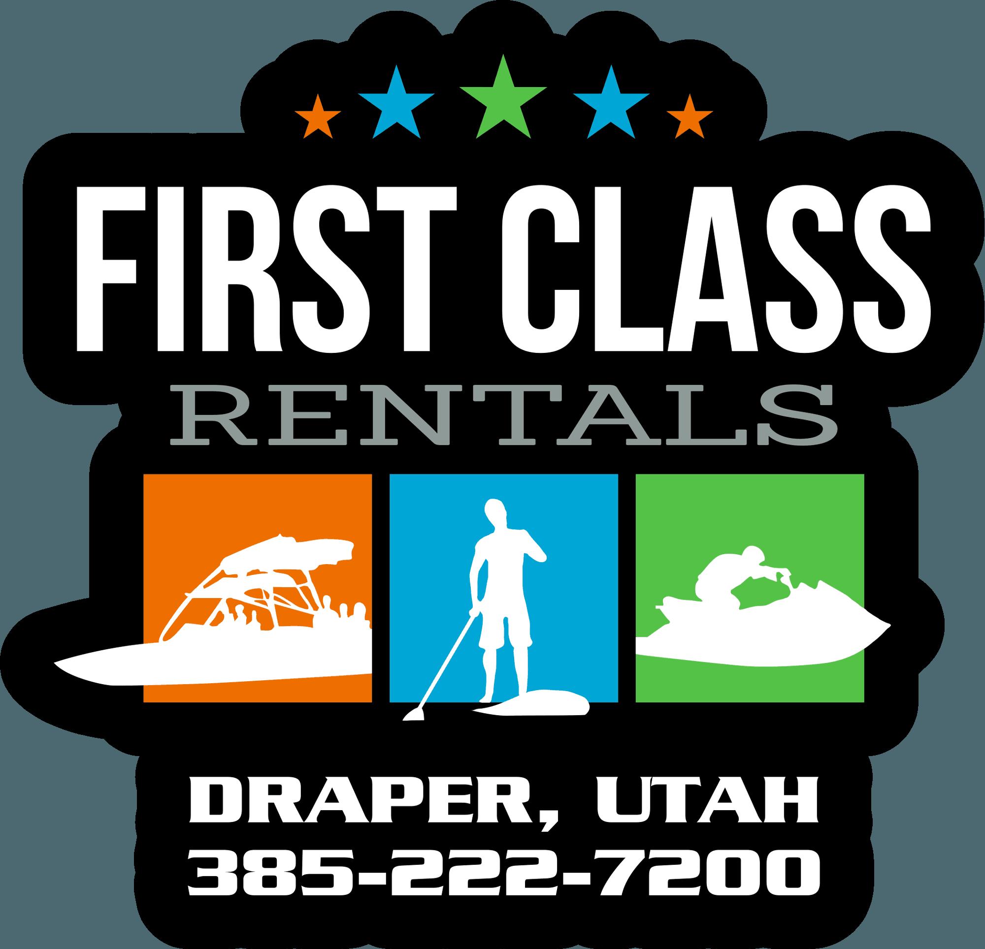 First Class Rentals - Logo