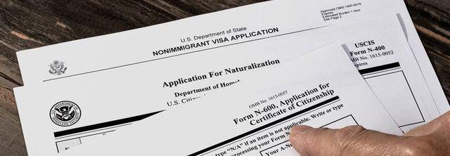 Work visa documents