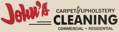 John's Carpet & Upholstery Cleaning - Logo