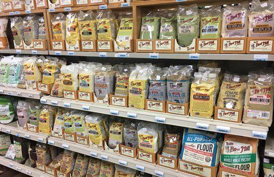 Organic groceries foods