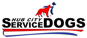 Hub City Service Dogs - logo