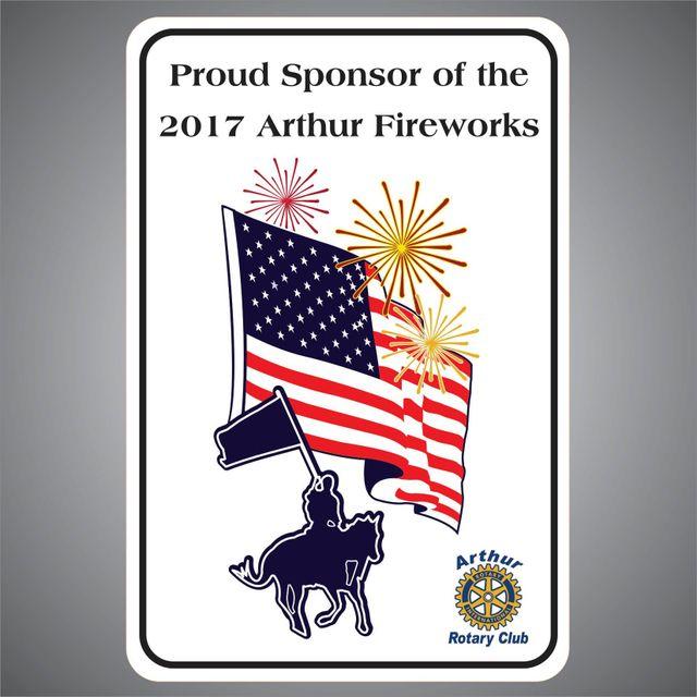 2017 Arthur Fireworks