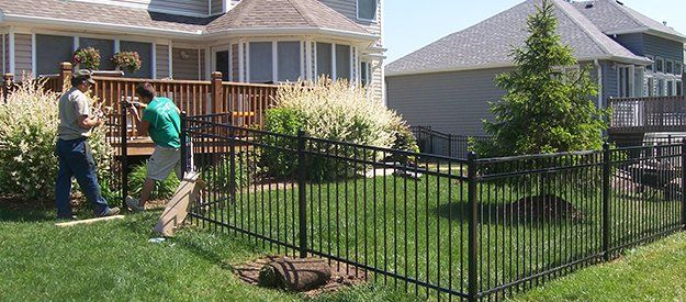 Various Styles of Decorative Metal Fencing  Custom Built Fences Concordia MO