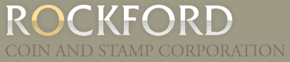 Rockford Coin & Stamp Co - Logo
