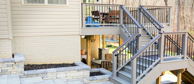 Exterior Home Remodeling Decks And Patios Annapolis Junction MD Custom Bathroom Remodeling Md Exterior