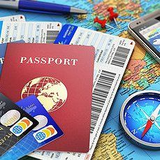 Map and passports