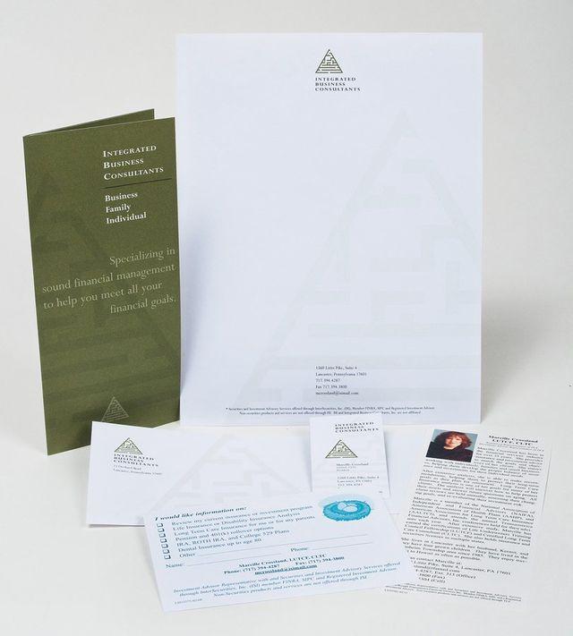 Portfolio example - Integrated Business Consultants design