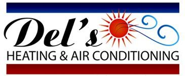 Del's Heating & Air Conditioning - Logo