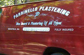 Parrinello Plastering vehicle