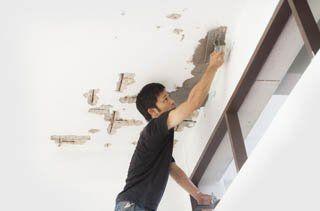 Plastering rework