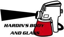 Hardin's Body and Glass - Logo