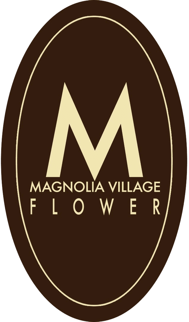 Magnolia Village Flower - logo