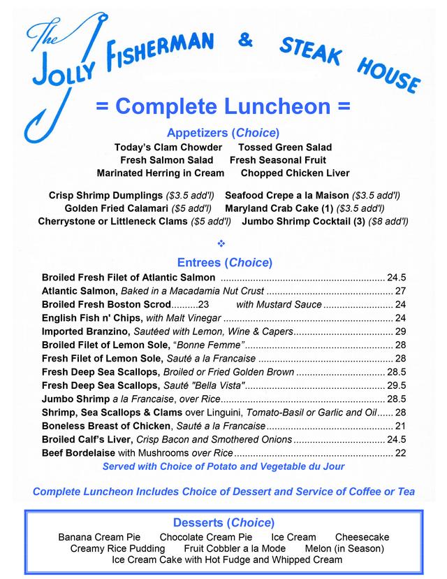jolly fisherman restaurant roslyn coupons