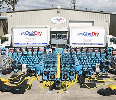 QuicDry trucks