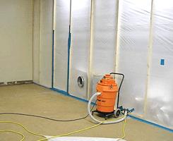 Drying floors