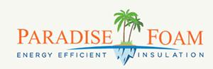 Paradise Foam - Logo