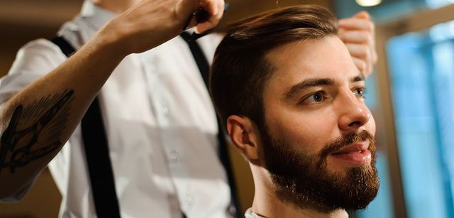 Hair styling for men