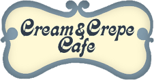 Cream and Crepe Cafe logo