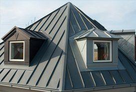 Metal standing roof