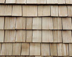 Cedar shakes roof