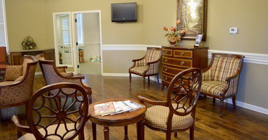 Dyersburg Dental Associates interior